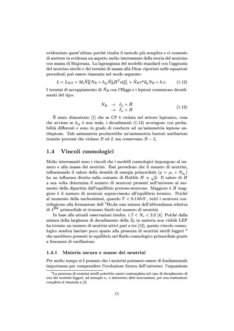 Anteprima della tesi: Misure cinematiche nell'esperimento Chorus per la ricerca di oscillazione di neutrini, Pagina 6