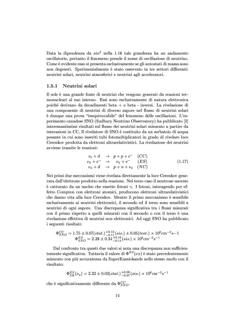 Anteprima della tesi: Misure cinematiche nell'esperimento Chorus per la ricerca di oscillazione di neutrini, Pagina 9