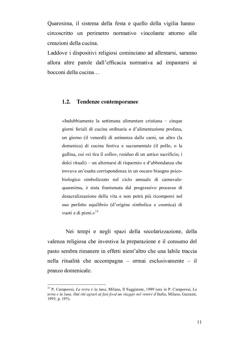 Anteprima della tesi: Mitologie del postmoderno: da McDonald's alla cucina del territorio, Pagina 11