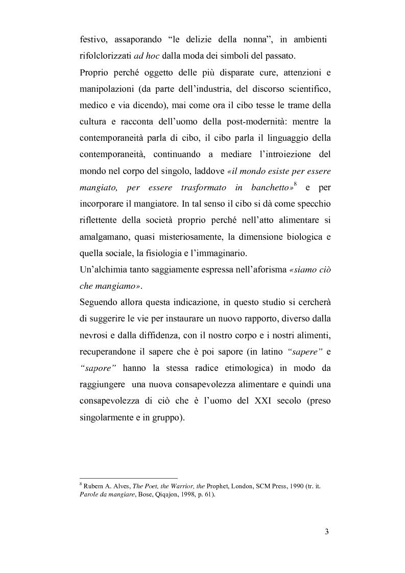 Anteprima della tesi: Mitologie del postmoderno: da McDonald's alla cucina del territorio, Pagina 3