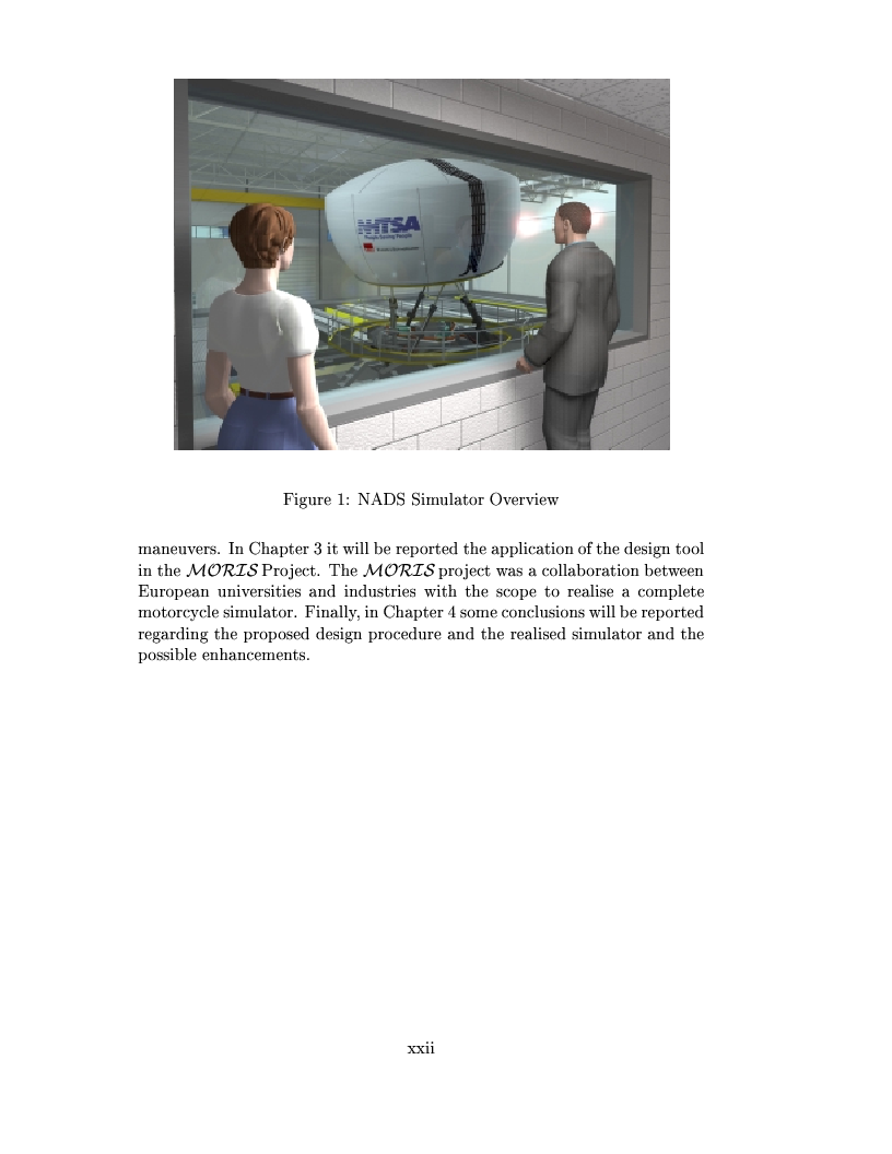 Anteprima della tesi: Study and design of motion base for driving simulators, Pagina 3