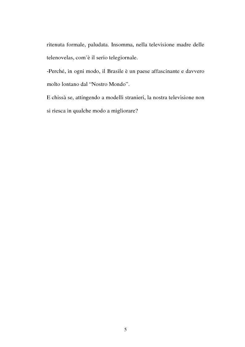 Anteprima della tesi: O telejornal. Informazione e televisione in Brasile, Pagina 3