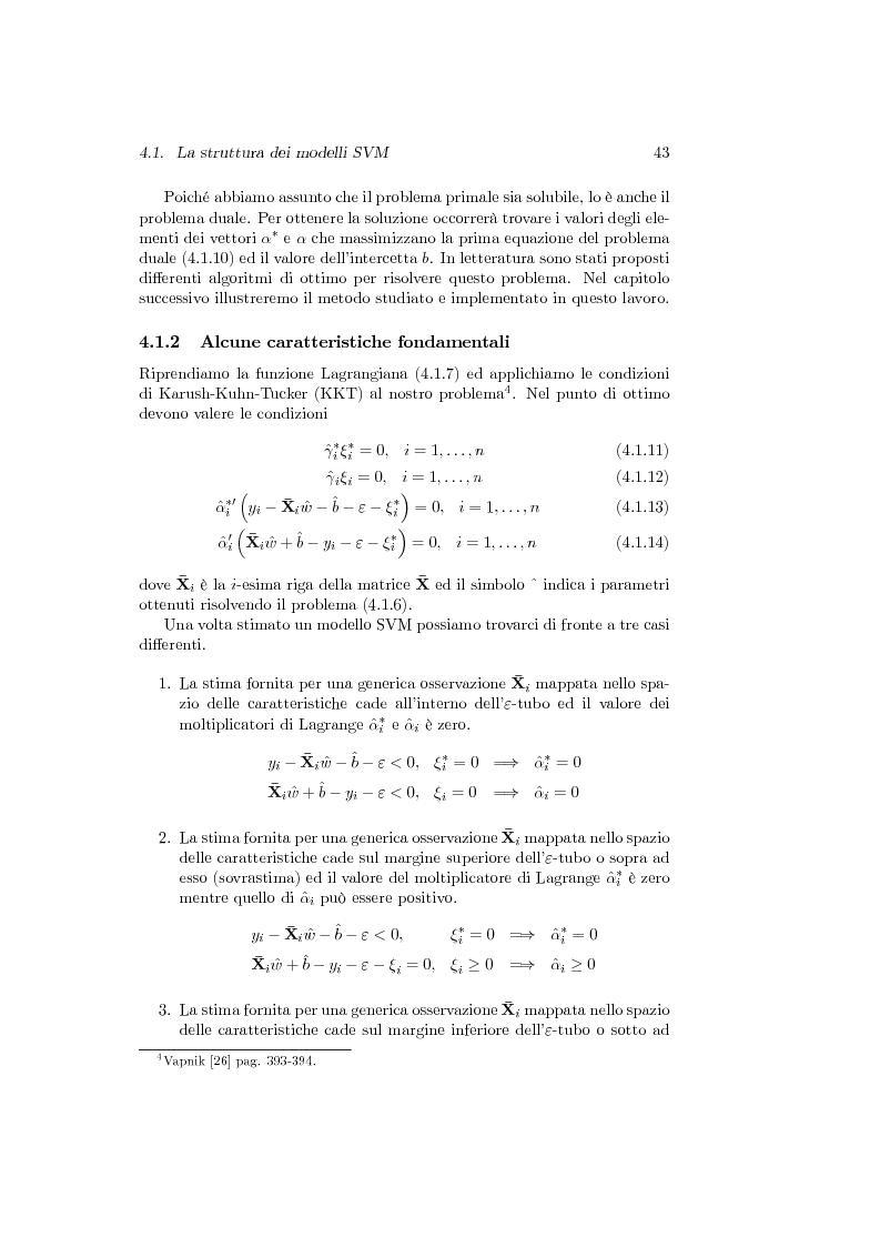Anteprima della tesi: Support Vector Machines e apprendimento statistico per l'analisi non parametrica della regressione: nuovi sviluppi teorici, software e applicazioni finanziarie, Pagina 7