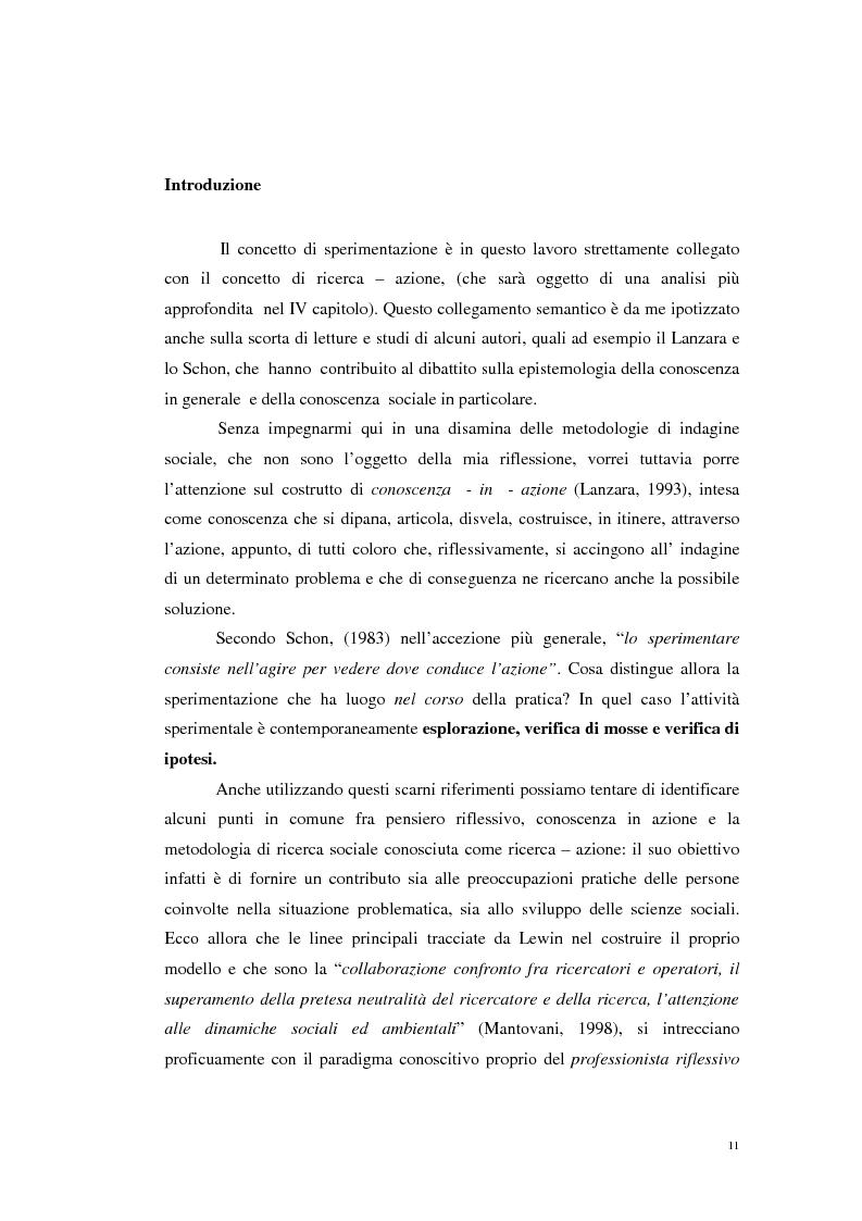 Anteprima della tesi: Il progetto del ''Delegato Sociale'', una sperimentazione nelle imprese e servizi della Provincia di Reggio Emilia, Pagina 3