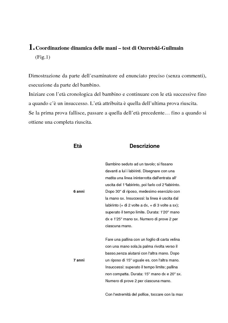Anteprima della tesi: L'importanza dell'attività motoria nella scuola elementare, Pagina 2