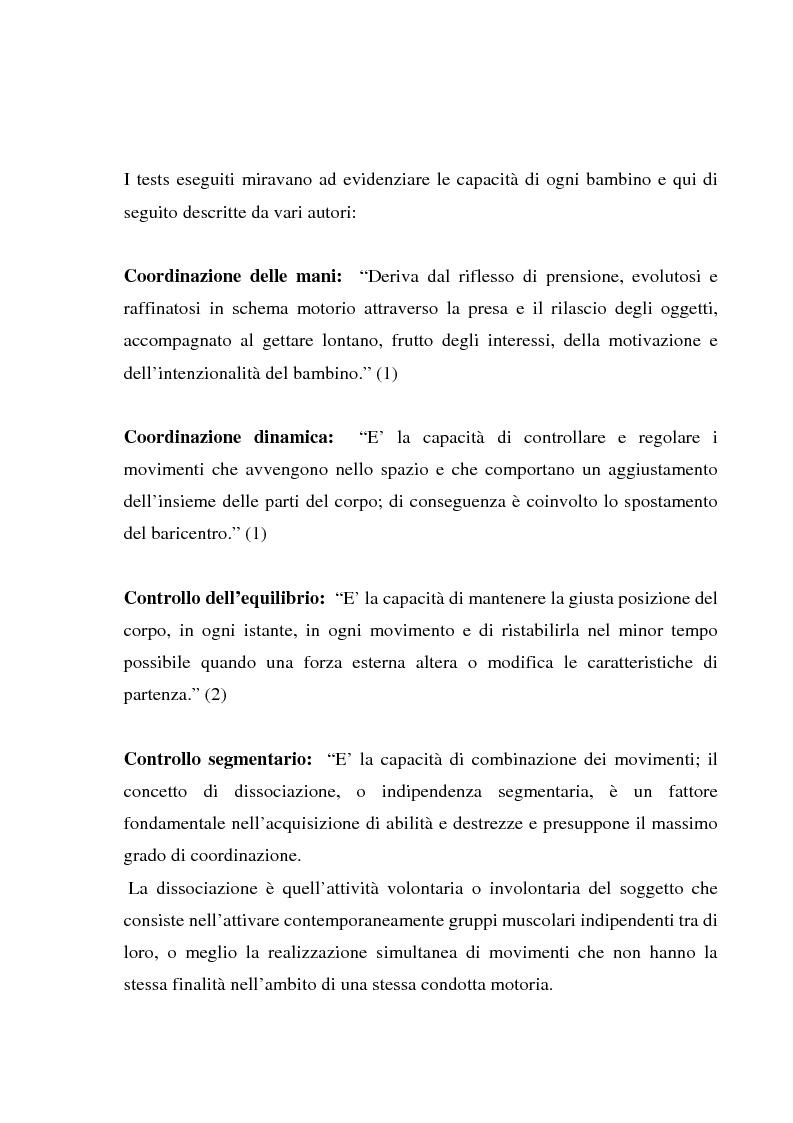 Anteprima della tesi: L'importanza dell'attività motoria nella scuola elementare, Pagina 7