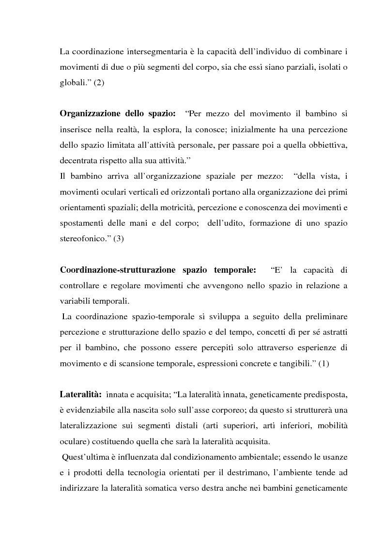 Anteprima della tesi: L'importanza dell'attività motoria nella scuola elementare, Pagina 8