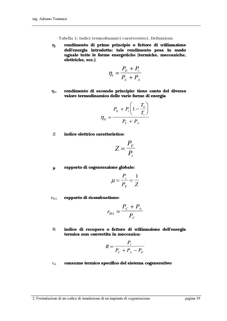Anteprima della tesi: Formulazione e validazione di un programma di simulazione di un sistema cogenerativo a servizio di un presidio ospedaliero, Pagina 13
