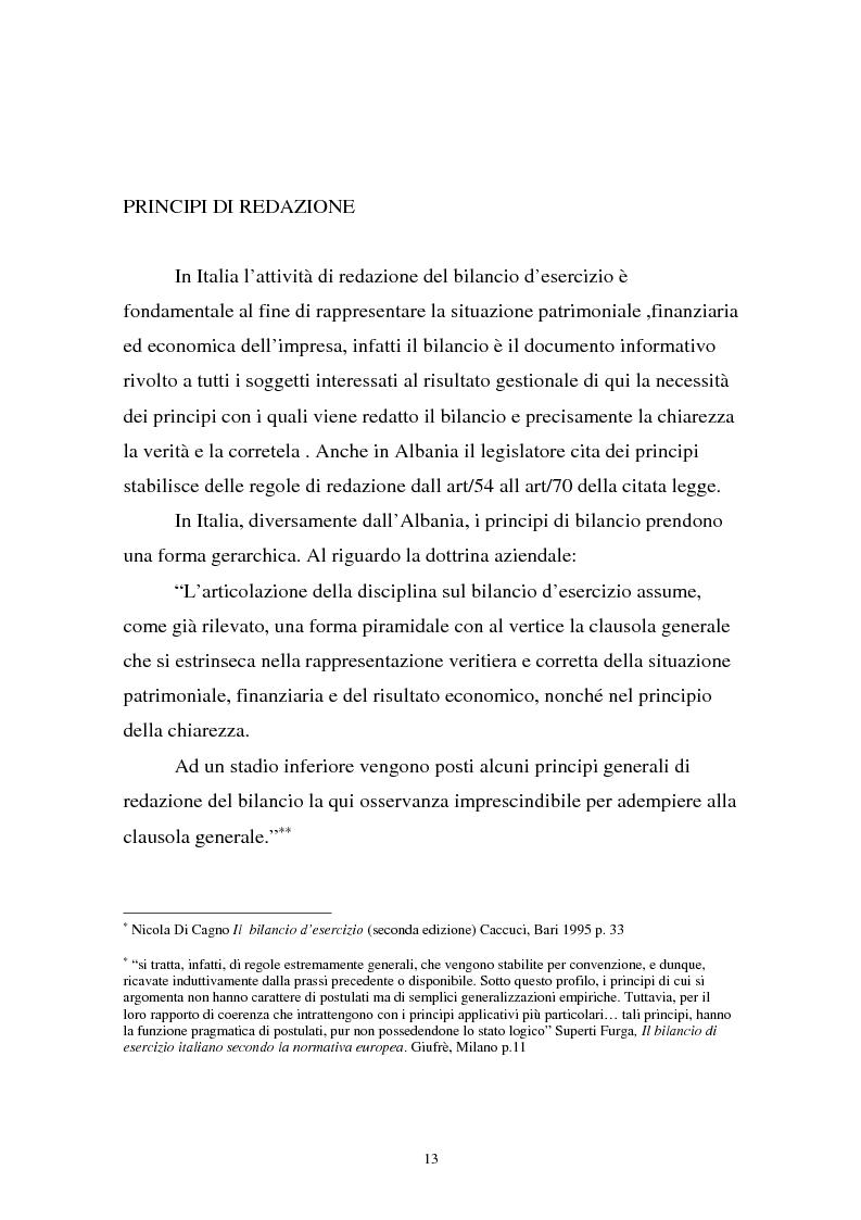 Anteprima della tesi: Analisi comparata di bilancio tra l'italiano e l'albanese, Pagina 7
