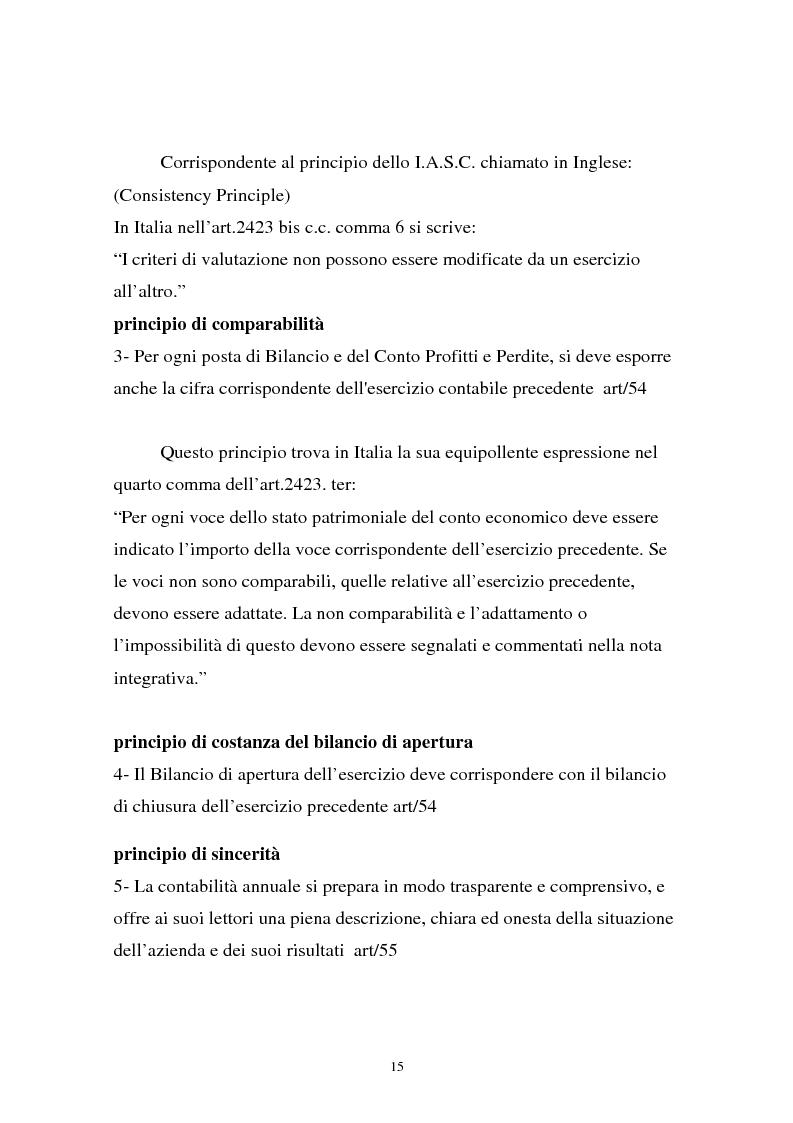 Anteprima della tesi: Analisi comparata di bilancio tra l'italiano e l'albanese, Pagina 9