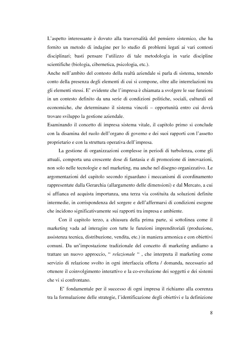 Anteprima della tesi: Verso l'impresa relazionale: l'approccio sistemico all'impresa tra vincoli e opportunità, Pagina 2