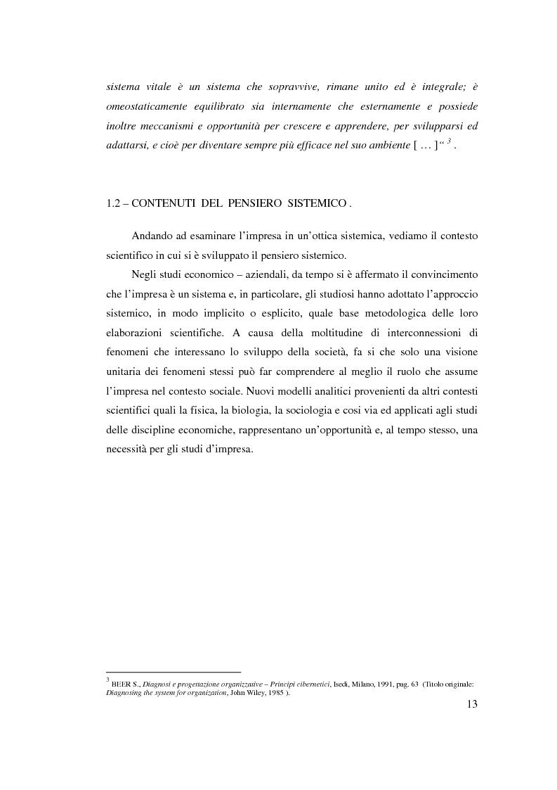 Anteprima della tesi: Verso l'impresa relazionale: l'approccio sistemico all'impresa tra vincoli e opportunità, Pagina 7