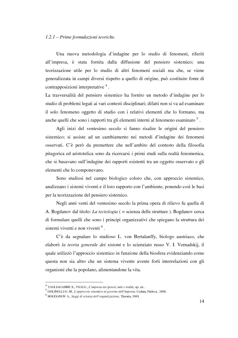 Anteprima della tesi: Verso l'impresa relazionale: l'approccio sistemico all'impresa tra vincoli e opportunità, Pagina 8