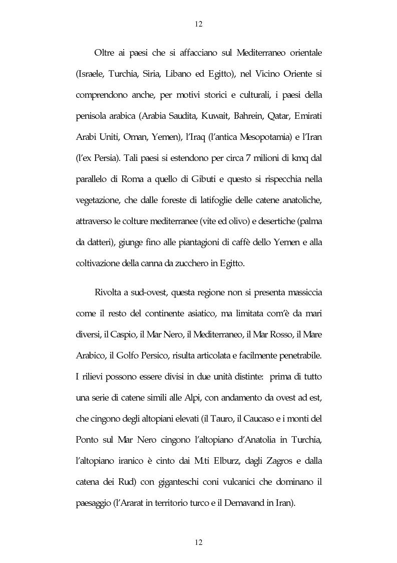 Anteprima della tesi: Israele: aspetti e problemi di uno stato piccolo con una nazione molto estesa, Pagina 12