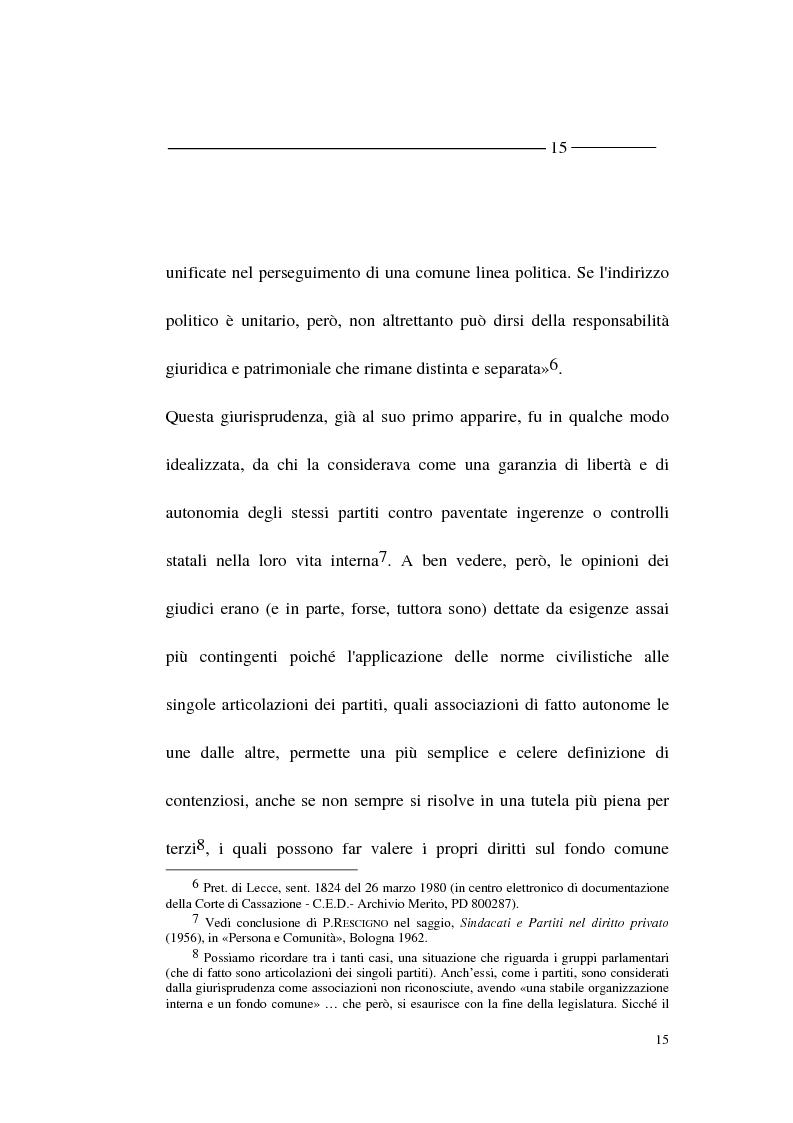 Anteprima della tesi: La forma - partito nel diritto angloamericano e riforme istituzionali in Italia, Pagina 13