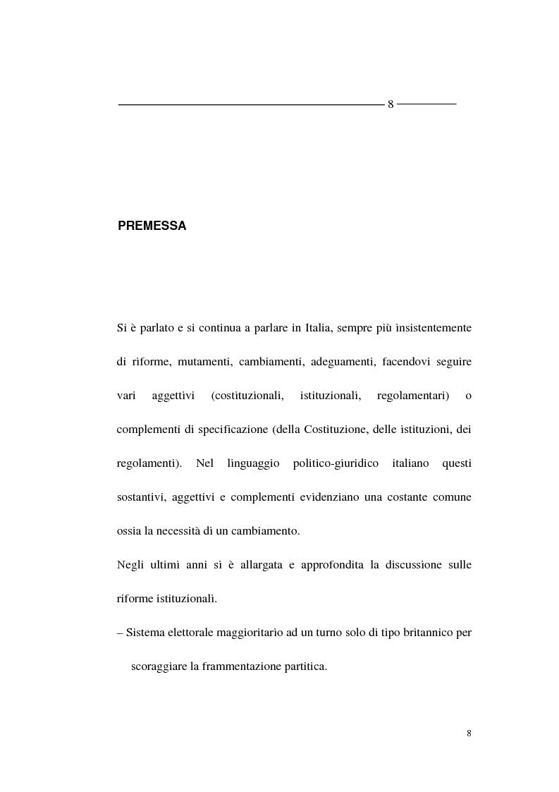 Anteprima della tesi: La forma - partito nel diritto angloamericano e riforme istituzionali in Italia, Pagina 6