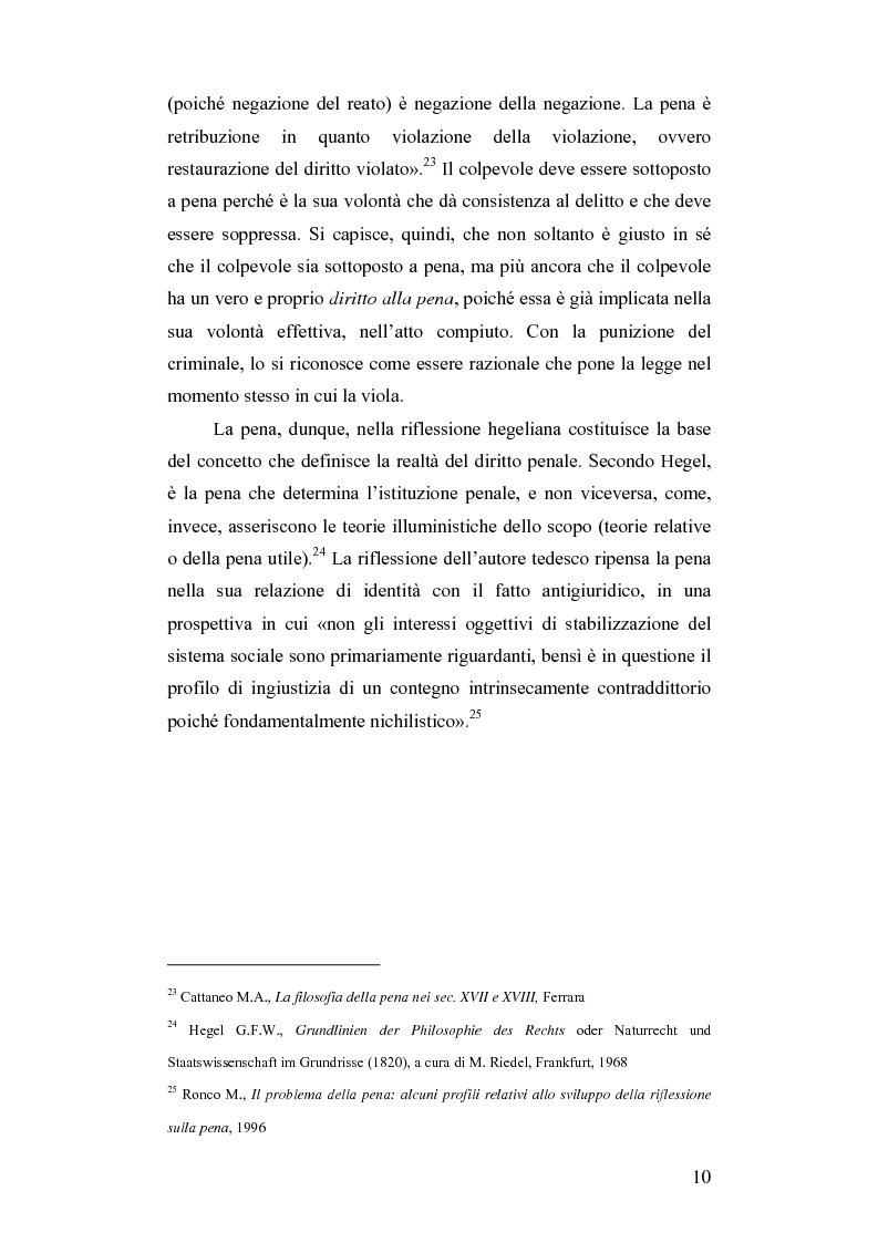 Anteprima della tesi: Dalla pena giusta alla pena utile, Pagina 15