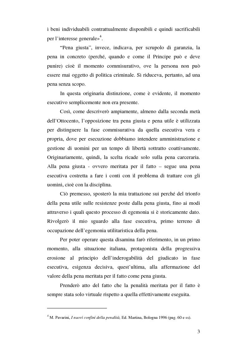 Anteprima della tesi: Dalla pena giusta alla pena utile, Pagina 3