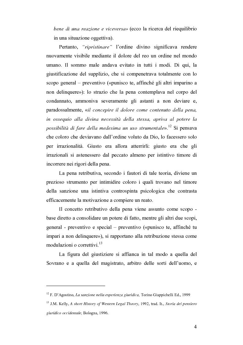 Anteprima della tesi: Dalla pena giusta alla pena utile, Pagina 9