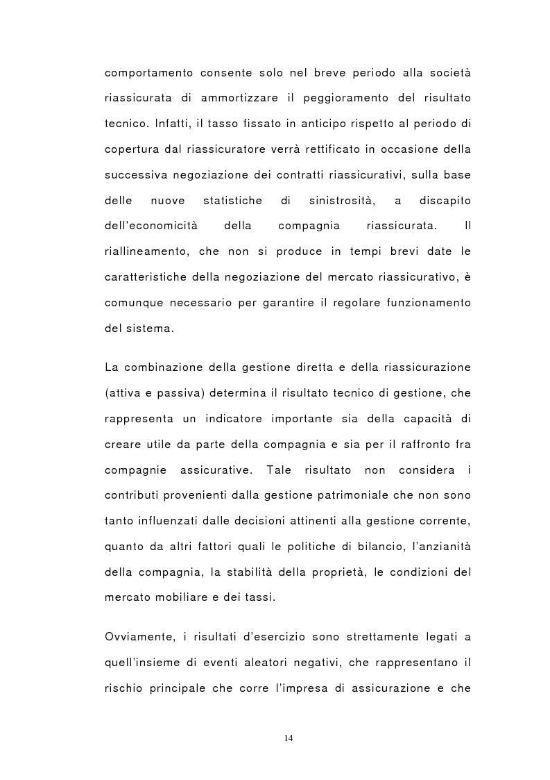 Anteprima della tesi: Il bilancio di esercizio delle imprese di assicurazione e le polizze unit-linked e index-linked, Pagina 12