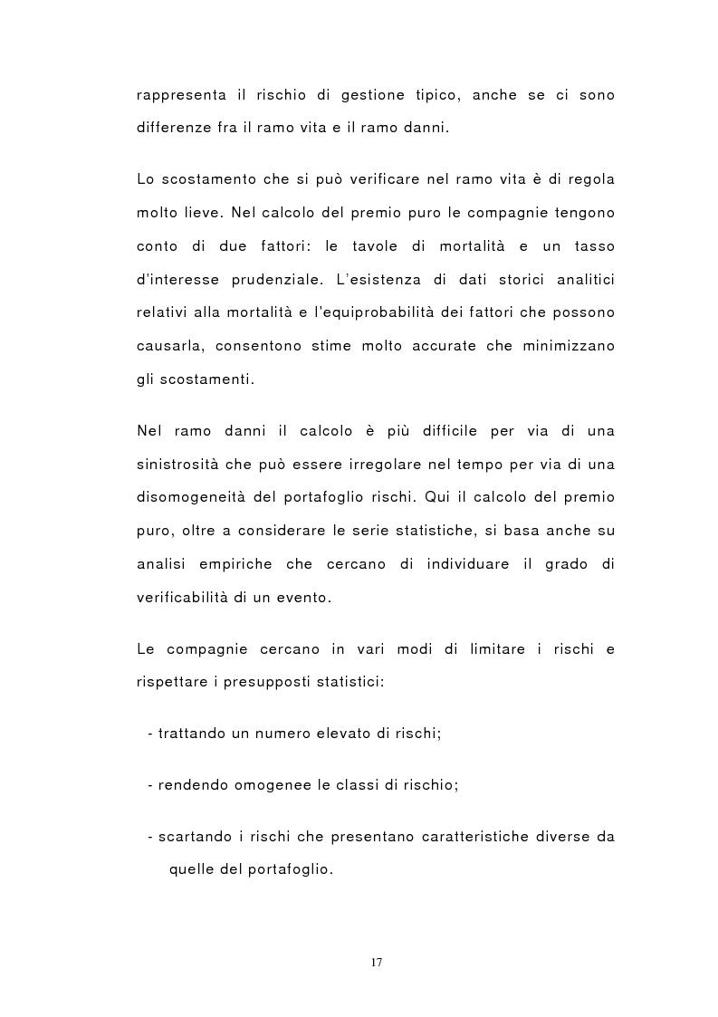 Anteprima della tesi: Il bilancio di esercizio delle imprese di assicurazione e le polizze unit-linked e index-linked, Pagina 15