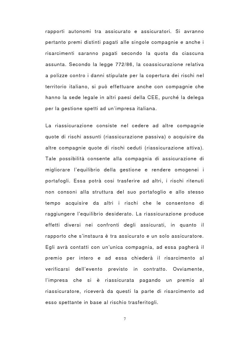 Anteprima della tesi: Il bilancio di esercizio delle imprese di assicurazione e le polizze unit-linked e index-linked, Pagina 5