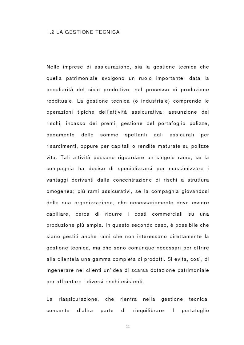 Anteprima della tesi: Il bilancio di esercizio delle imprese di assicurazione e le polizze unit-linked e index-linked, Pagina 9