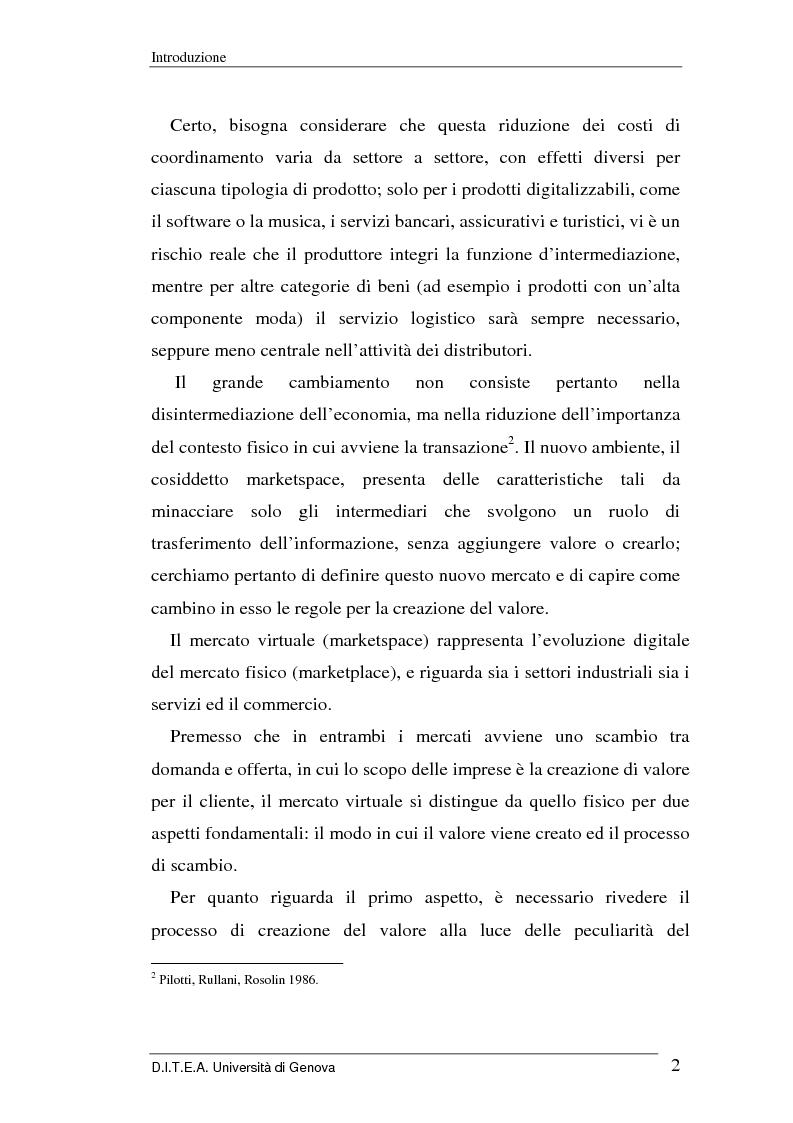 Anteprima della tesi: La grande distribuzione di fronte ai recenti sviluppi del commercio elettronico, Pagina 2