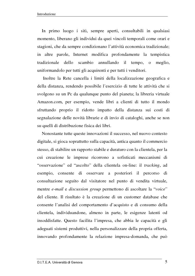 Anteprima della tesi: La grande distribuzione di fronte ai recenti sviluppi del commercio elettronico, Pagina 5