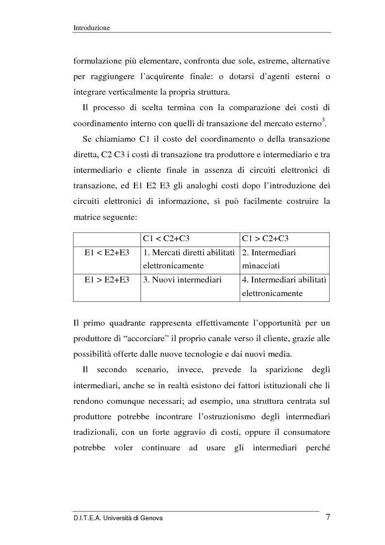 Anteprima della tesi: La grande distribuzione di fronte ai recenti sviluppi del commercio elettronico, Pagina 7