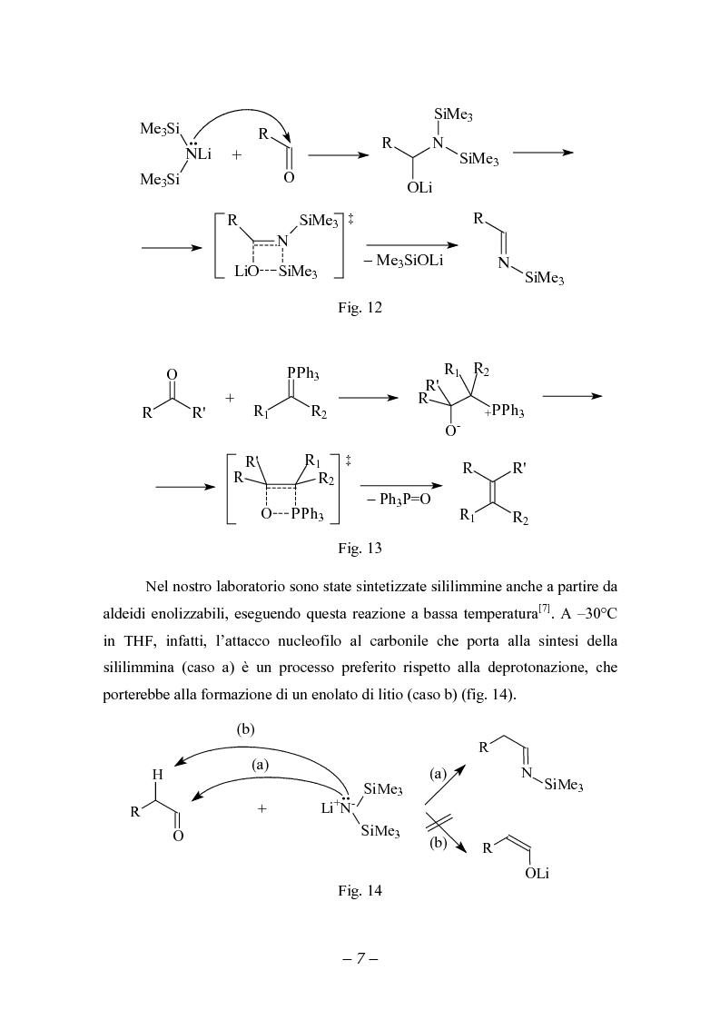 Anteprima della tesi: Reattività di sililimmine, Pagina 7