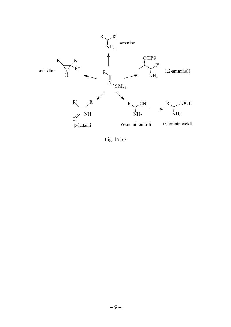 Anteprima della tesi: Reattività di sililimmine, Pagina 9