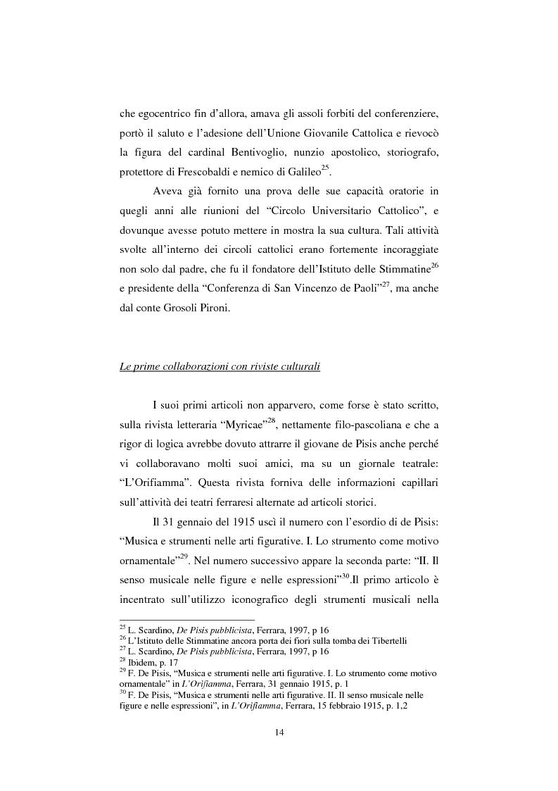 Anteprima della tesi: De Pisis al museo. Dalla collezione privata all'esposizione pubblica, Pagina 13