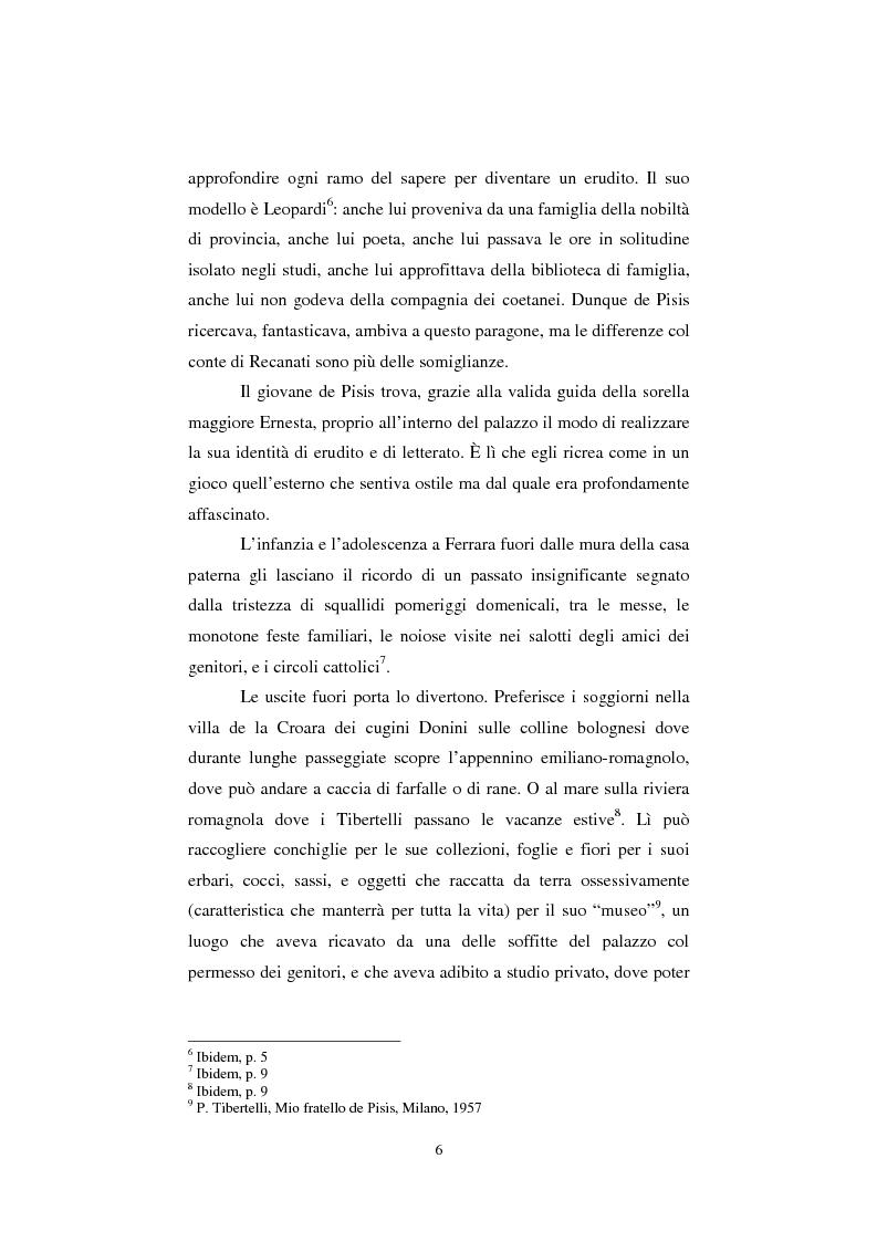 Anteprima della tesi: De Pisis al museo. Dalla collezione privata all'esposizione pubblica, Pagina 5