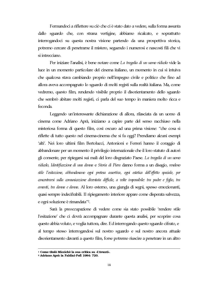Anteprima della tesi: Il cinema e l'impatto del terrorismo sulla società italiana. Alcune ipotesi storiografiche sulla svolta degli anni Ottanta, Pagina 14