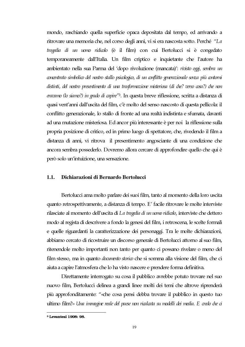Anteprima della tesi: Il cinema e l'impatto del terrorismo sulla società italiana. Alcune ipotesi storiografiche sulla svolta degli anni Ottanta, Pagina 15