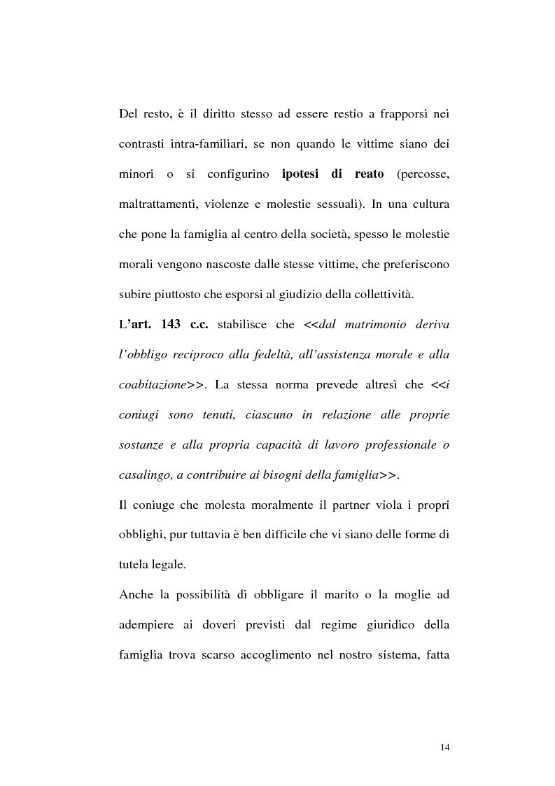 Anteprima della tesi: Il mobbing: concetto e fenomenologia giuridica, Pagina 14