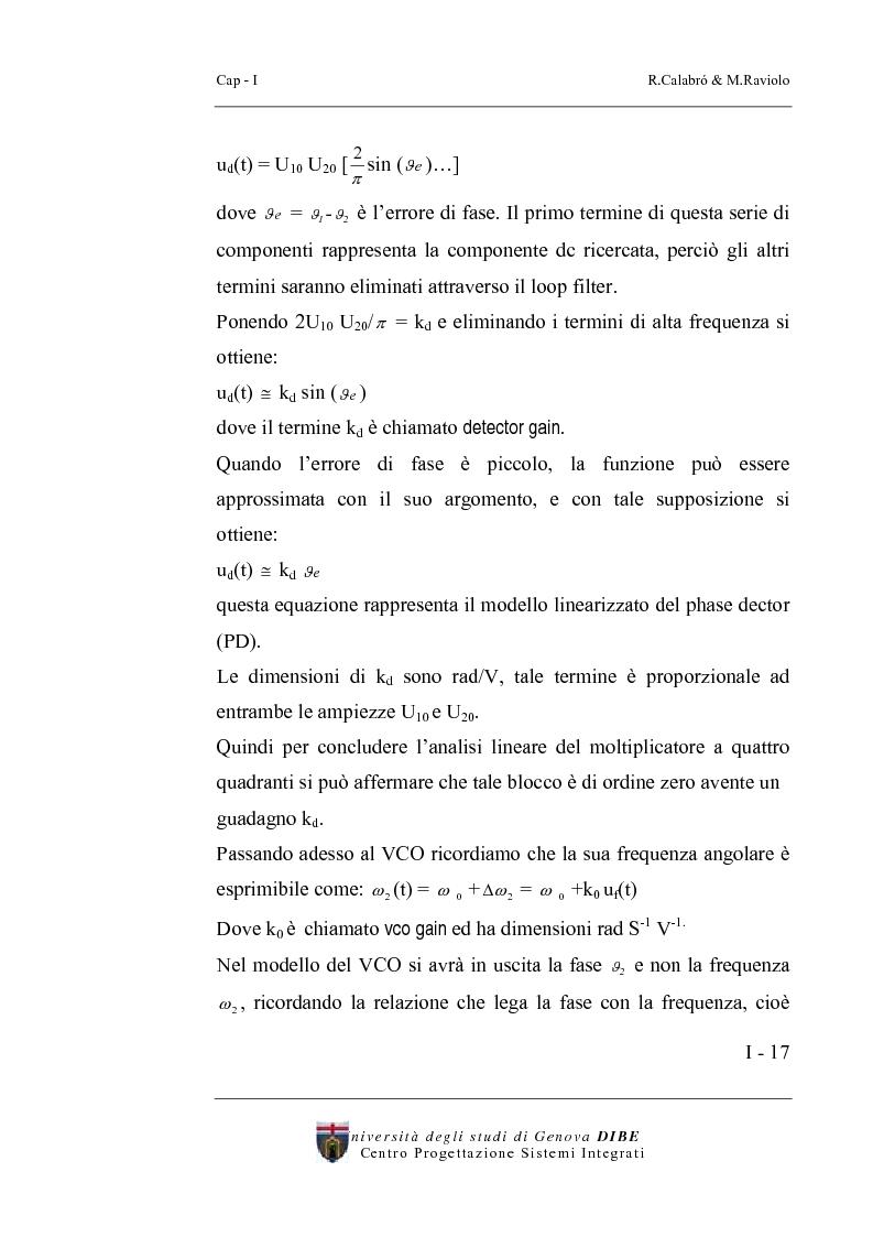 Anteprima della tesi: Progetto di un sintetizzatore a PLL per frequenze 25, 50, 75 Mhz in tecnologia CMOS 0.8 micron, Pagina 12