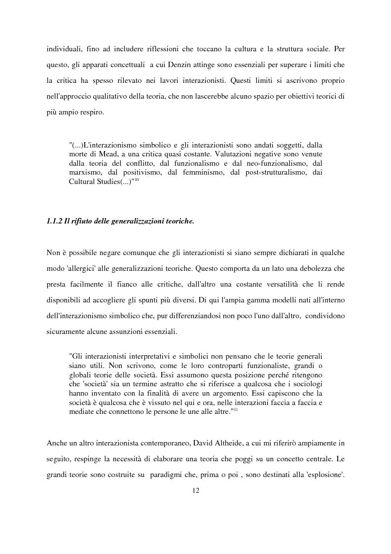 Anteprima della tesi: Recenti contributi dell'interazionismo simbolico alla ricerca sui mass media, Pagina 10