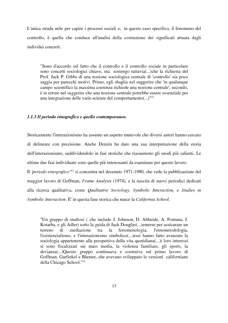 Anteprima della tesi: Recenti contributi dell'interazionismo simbolico alla ricerca sui mass media, Pagina 11