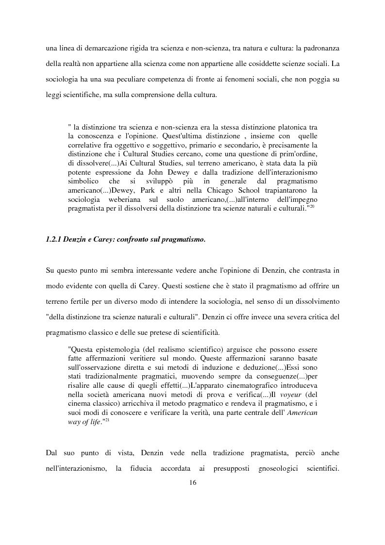 Anteprima della tesi: Recenti contributi dell'interazionismo simbolico alla ricerca sui mass media, Pagina 14