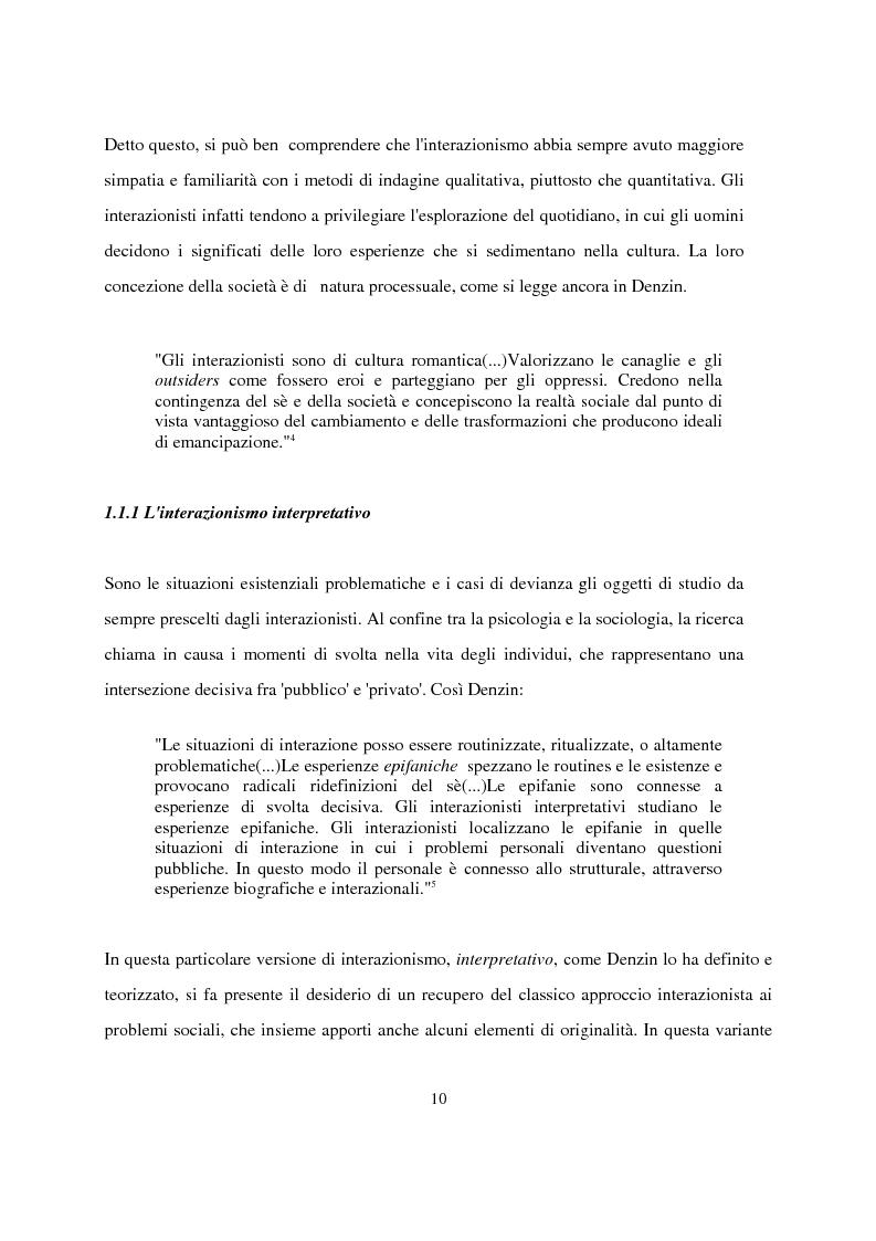 Anteprima della tesi: Recenti contributi dell'interazionismo simbolico alla ricerca sui mass media, Pagina 8