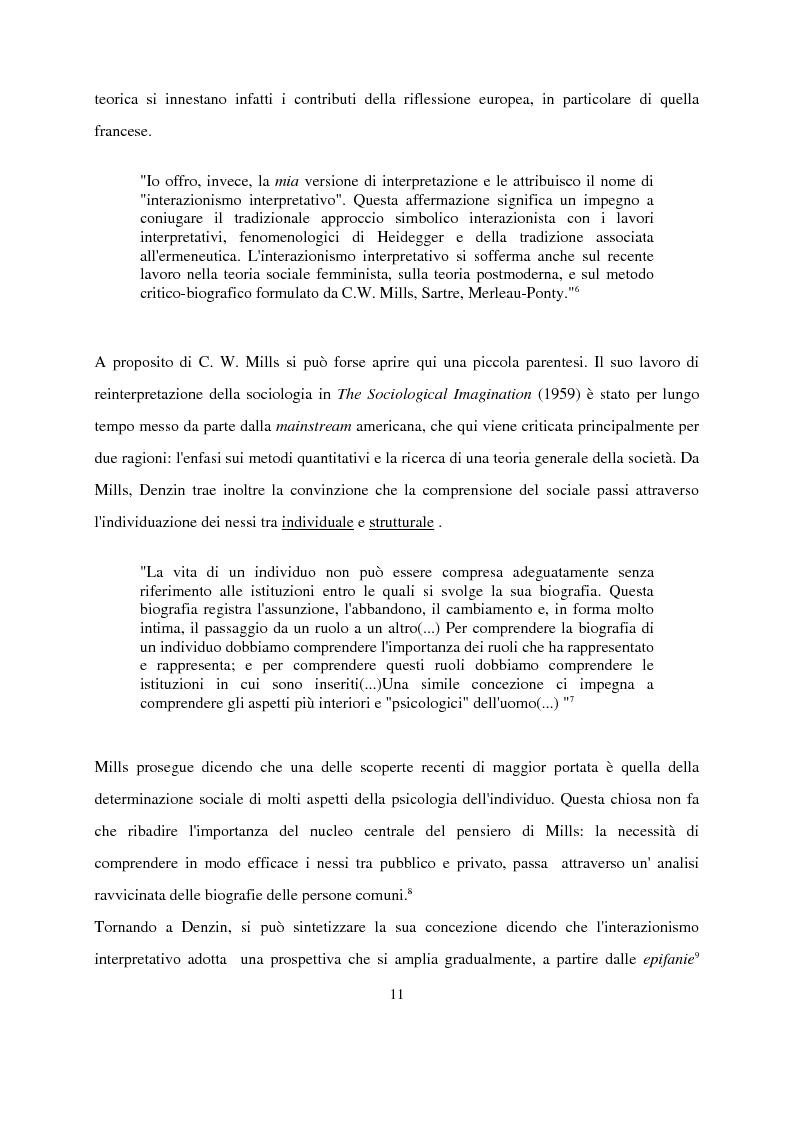 Anteprima della tesi: Recenti contributi dell'interazionismo simbolico alla ricerca sui mass media, Pagina 9