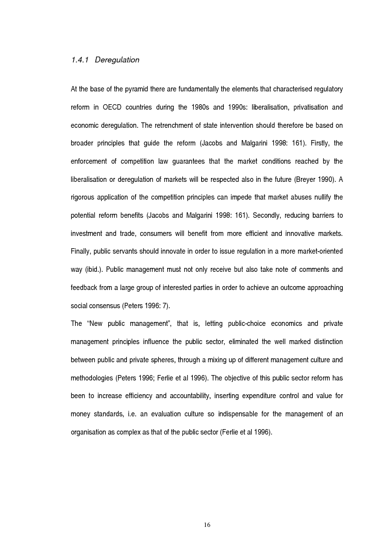 Anteprima della tesi: Governing Regulation: Regulatory Impact Analysis in the European Union, the United Kindgom and the Netherlands, Pagina 13