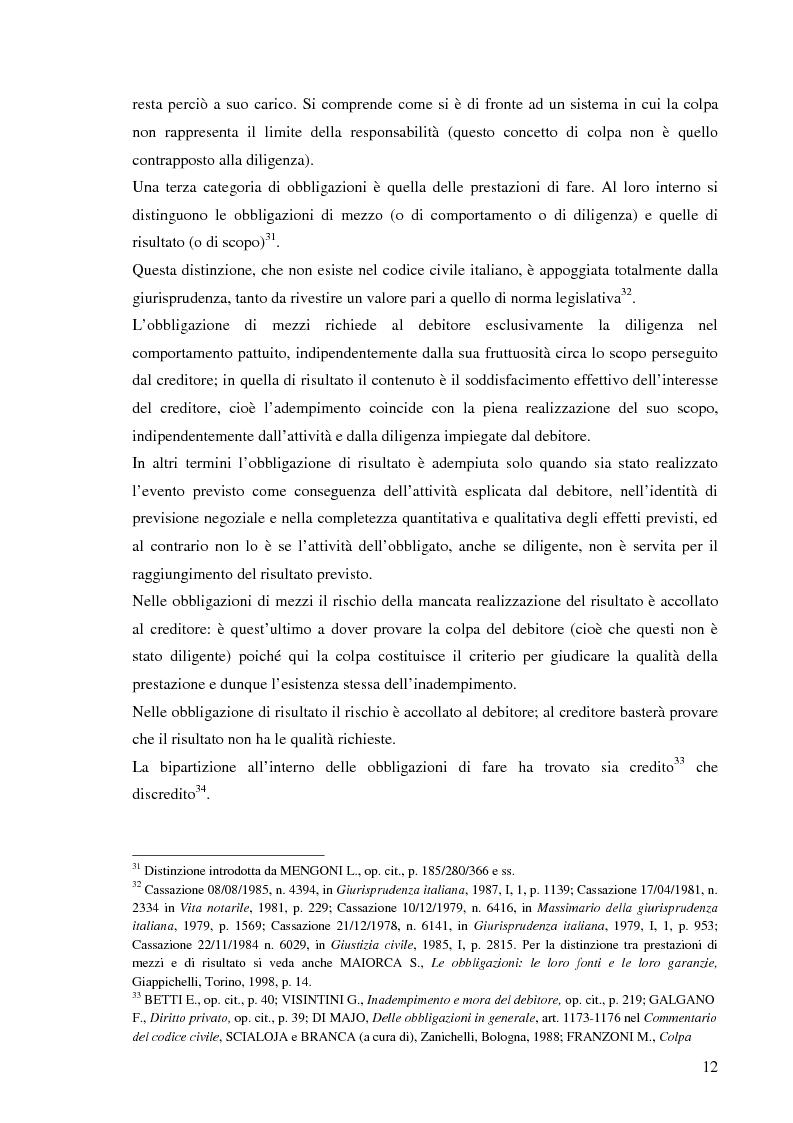 Anteprima della tesi: Le responsabilità contrattuali nell'e-commerce, Pagina 14