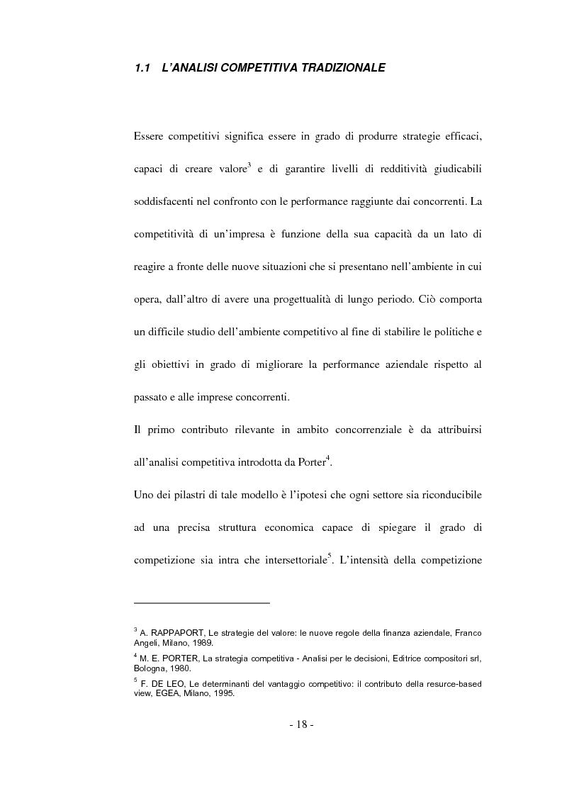 Anteprima della tesi: Tecniche di analisi della competizione, Pagina 12