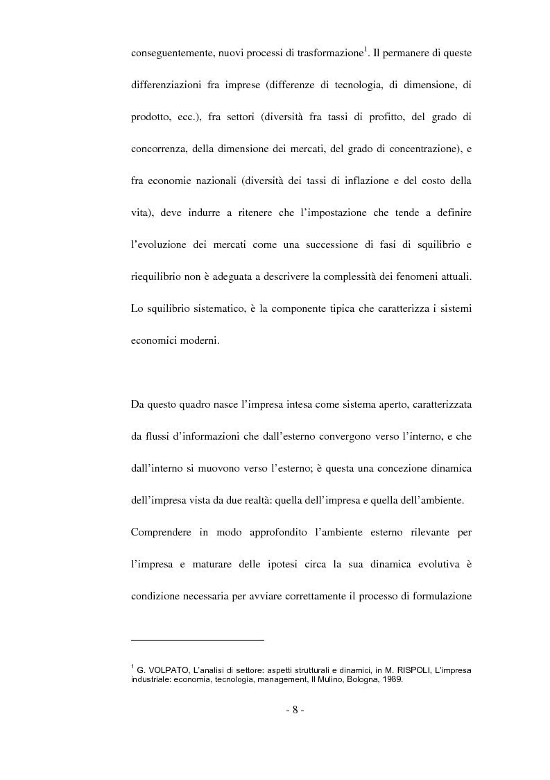Anteprima della tesi: Tecniche di analisi della competizione, Pagina 2