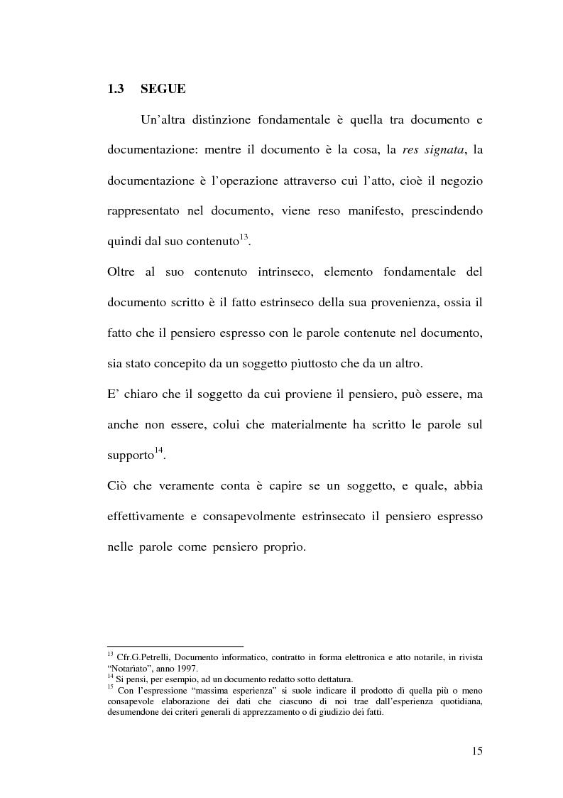 Anteprima della tesi: La firma digitale nella Pubblica Amministrazione. L'esperienza pratica dell'Ussl 9 di Treviso, Pagina 15