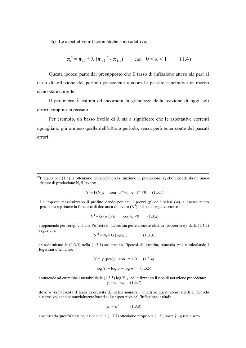 Anteprima della tesi: Sviluppi recenti della teoria del ciclo politico, Pagina 6