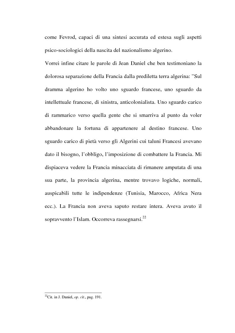 Anteprima della tesi: Il problema algerino e de Gaulle, Pagina 14